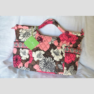 Gabby Style Satchel/Handbag in Mocha Rouge NWT